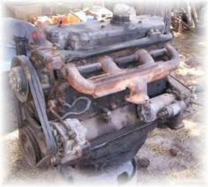 Vendo Motor Mercedez Benz  Mdelo 76