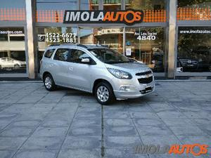 Chevrolet Spin LTZ GAS MT 7S usado  kms
