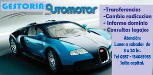 GESTORIA INTEGRAL DEL AUTOMOTOR