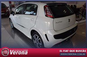 Fiat Punto Black Motion 0km  Negro Financiado Y Cuotas