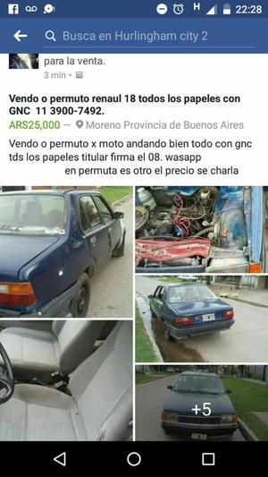 Renault ,cn Gnc.pto X Moto