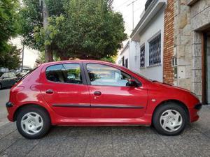 Peugeot 206 XT 2.0 HDI Premium 5P usado  kms