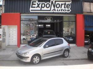 Peugeot 206 XTD 1.9 5P usado  kms