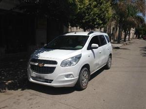Chevrolet Spin LT GAS MT 5S usado  kms