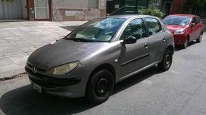 Peugeot 206 Premium 1.9d 5p usado  kms