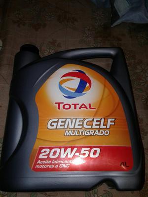 Aceite Total 20w50 para Motores a Gnc