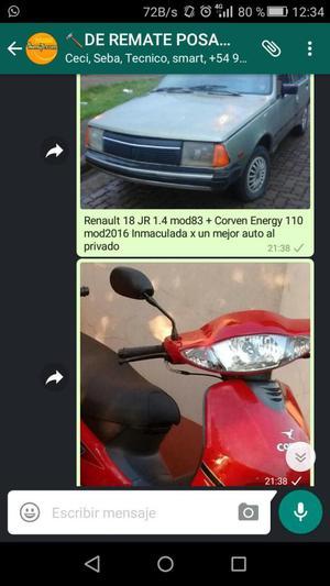 R18 Junior Y 110cc  X Otro Auto