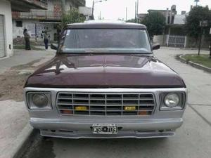 Ford F-100 V8 STD usado   kms