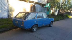 Fiat 125 Andando Titulo Cedula Y Demas P