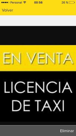 Licencia de Taxi Capital Federal