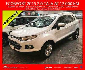 Ford Ecosport Titanium 2.0L Duratec AT