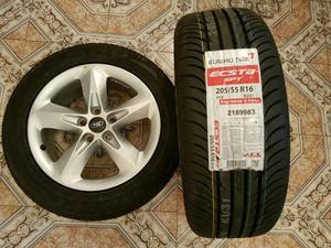 Dos Neumático Ok sin Rodar