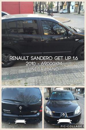 Vendo Sandero Get Up Impecable