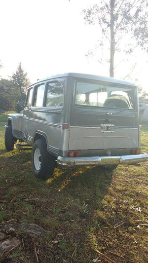 Vendo Estanciera 69, 4x4