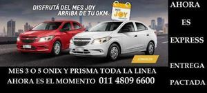 Chevrolet Prisma Joy Joy LS usado  kms