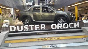 RENAULT DUSTER OROCH 0KM ANTICIPO MÍNIMO Y CUOTAS AHORA EN
