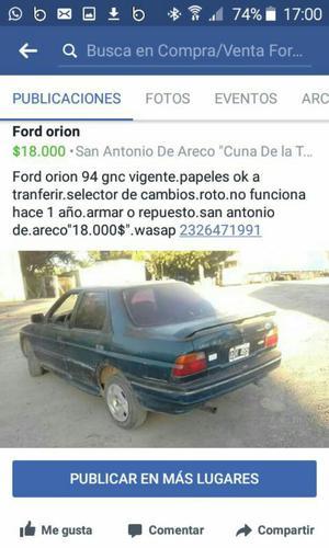 Ford Orión Remato a .llamame Al Was