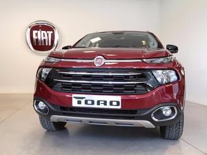 Fiat Toro 0KM  Freedom | Volcano 4x2 | 4x4 Retira Con