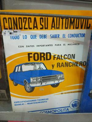 Manual Del Ford Falcon Y Ranchero 400 Pesos