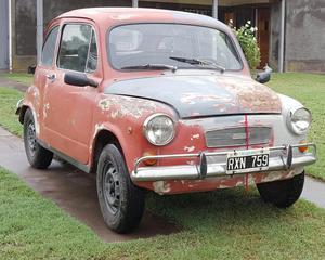 VENDO MI FIAT 600 R