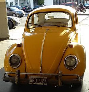 Volkswagen Escarabajo , Aleman