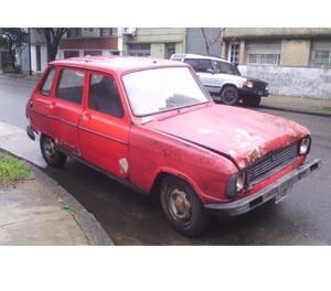 Renault 6 Gtl Año  Gnc Motor Nuevo Liquido hoy $