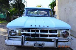 Dodge D100 perkins 4