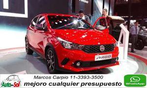 Fiat Argo Hgt 1.8 Credito Uva Entrega Inmediata
