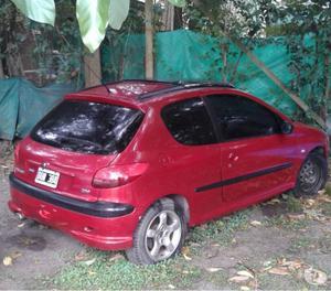 Vendo excelente auto peuguet 206 gti frances