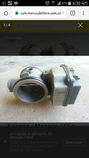 Cuerpo de Mariposa P/ Renault K4m