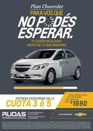 Chevrolet Onix Onix joy ls Plan de ahorro