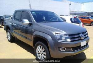 Volkswagen Amarok 2.0 Black Edition 4x4 AT usado