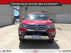 Toyota Hilux TOYOTA HILUX 4X4 D/C SRX 2.8 TDI 6M/T