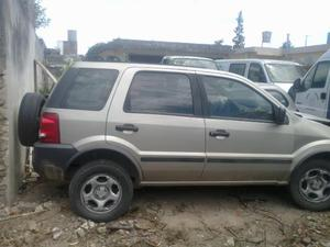 ford ecosport  chocado, dado de baja