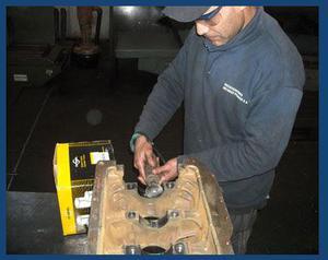 Trabajos especiales en Block y Tapa de Cilindro soldadura