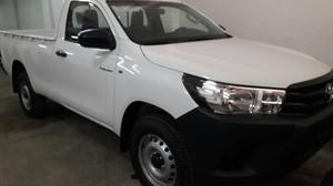 Toyota Hilux Cab Simple 4x2 0km