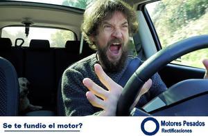 Fundiste el motor del auto y tenes que repararlo?