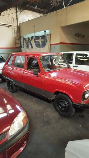 Renault 6 modelo 80 nafta FINANCIADO 100