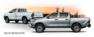Hilux DX Doble y Cabina Simple