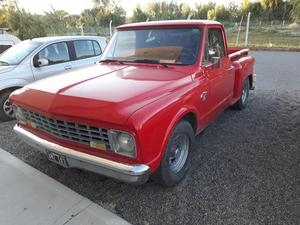 Vendo o permuto hermosa camioneta Chevrolet Brava del 70