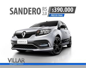 RENAULT SANDERO RS  VILLAR AUTOMOTORES