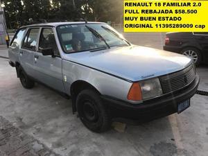 Renault 18 Break  Full $ Y Varios Mas Baratos