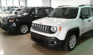financiamos al 100 jeep renegade sport 0km mini anticipo !