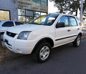 Ford Ecosport 1.6 Xls con Gnc 4x2 blanca