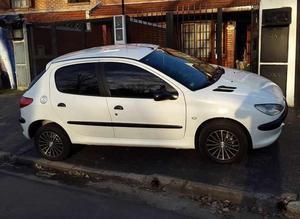 Peugeot 206 Xr 1.6 Nafta 5 Ptas