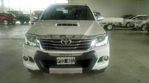Toyota Hilux 3.0 Cd Srv Cuero 4x4 Automatica