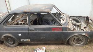 Fiat 147 Casco con Jaula Y Motor