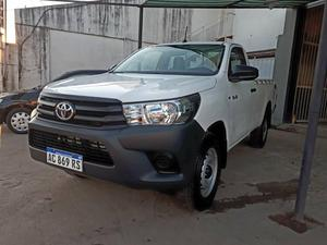 Toyota Hilux Dx Cabina Simple 4x4 0km