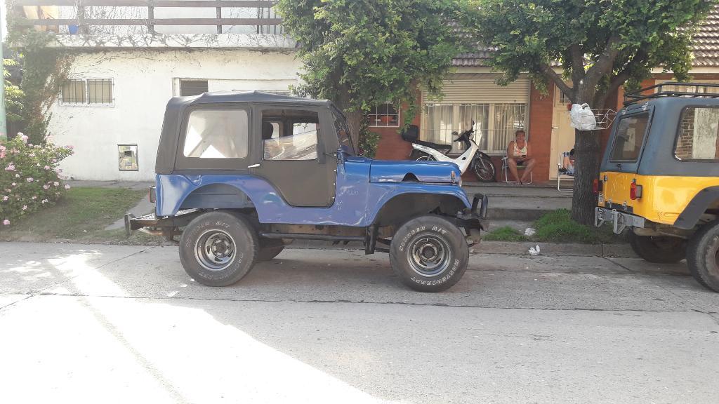 Vendo Jeep Ika 4x4 Motor Ford 2.3