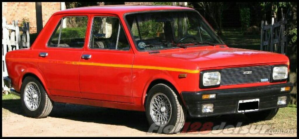 Fiat 128 Iava Original Titular Año 79